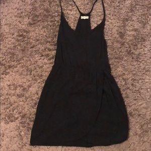 Black Mini Cover Up Dress